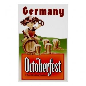 Vintage Oktoberfest Beer Print