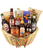 Around the World Brew Gift Basket