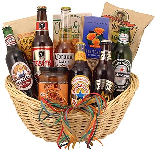Around the World Brew Basket
