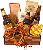 Autumn Beer & Snacks Gift Box