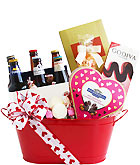 Beer My Valentine Gift Basket
