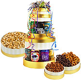 Celebration Beer Tower Gift Basket