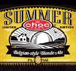 Choc Beer Company Summer Blonde Ale Label