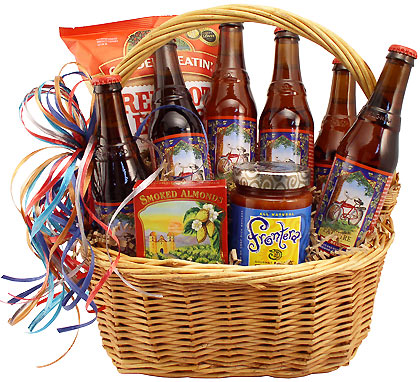 Classic Fat Tire Beer Gift Basket