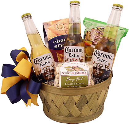 Coolness Beer Gift Basket