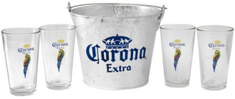 Corona Extra Beer Bucket Gift Set