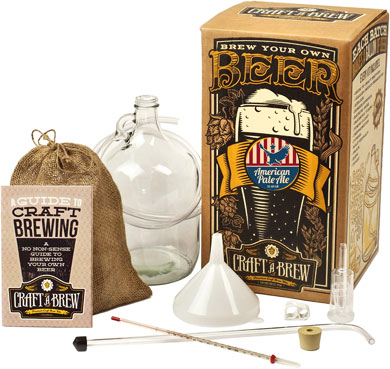 craft a brew kit american pale ale brewing kit