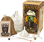 Craft A Brew Kit - Bone Dry Irish Stout Brewing Kit - BeerGifts.com