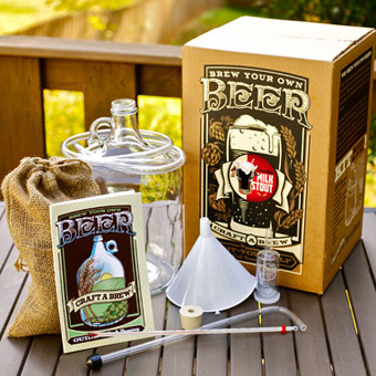 Craft a brew kit chocolate milk stout brewing kit for Craft beer brewing kit