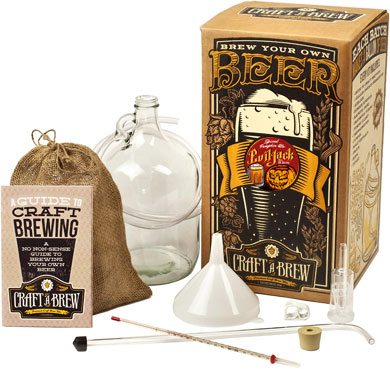 Craft A Brew Kit - Evil Jack Pumpkin Brewing Kit