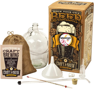 Craft a brew kit hefeweizen brewing kit for Home brew craft beer