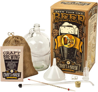 Craft A Brew Kit - Smooth Brown Ale Brewing Kit