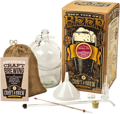 Craft A Brew Kit - White House Honey Ale Brewing Kit