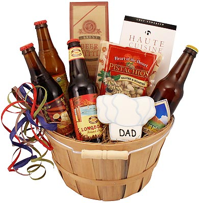 Dad's Beer Gift Basket