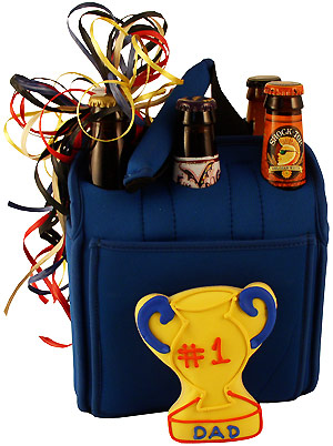 Dad's Crazy Six Pack Beer Gift