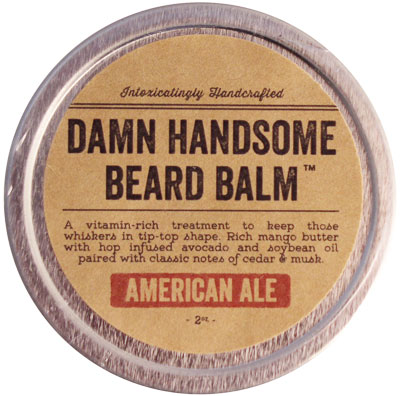 damn handsome american ale beard balm. Black Bedroom Furniture Sets. Home Design Ideas