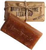 Damn Handsome Nut Brown Beer Soap