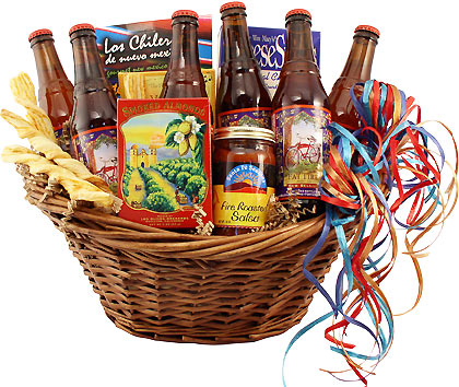 Fat Tire Beer Bash Gift Basket