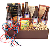 Fat Tire Beer & Snacks Gift Box