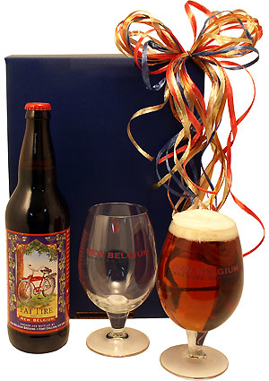 Fat Tire Set for Two Beer Gift Box