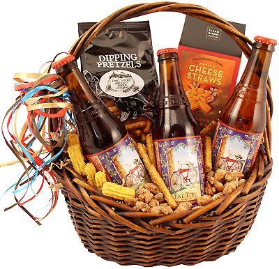 Fat Tire Trio Beer Gift Basket