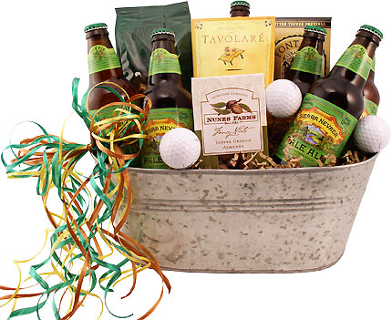 Father's Day Golfing Beer Gift Bucket