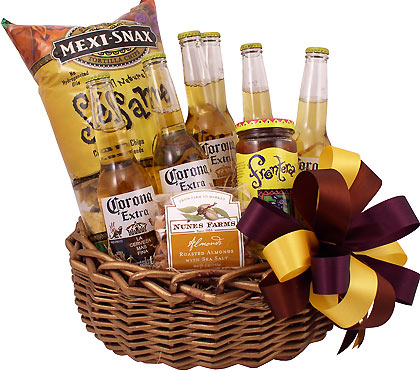 Festival Of Corona Beer Gift Basket