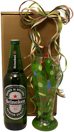 Golfers Hole in One Beer Gift Box