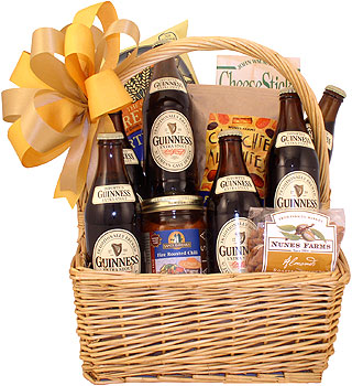 Good Taste of Guinness Gift Basket