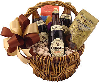 Guinness and Goodtimes Beer Gift Basket