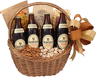 Guinness Celebration Beer Gift Basket