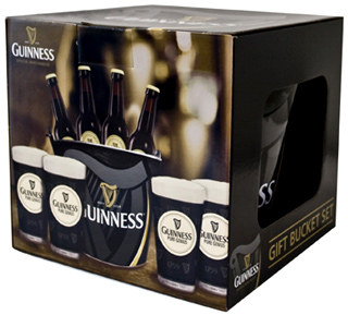 Guinness Gift Bucket Set