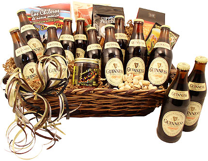 Guinness Greatness Beer Gift Basket