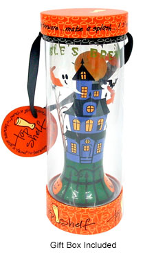 Haunted Halloween Pilsner Glass in Gift Box