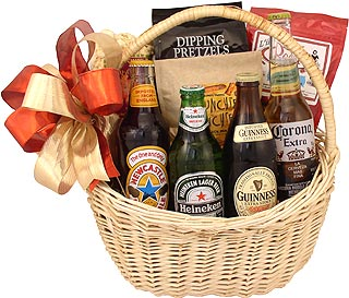 Imported Beer Classic Gift Basket