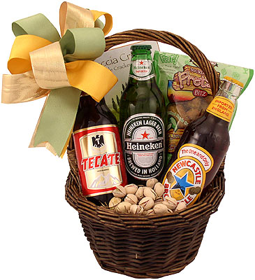Buy your Beer Gift Baskets from the Experts in Gift Basket Delivery.