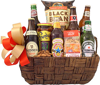 International Beer Traveler Gift Basket