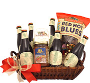 Merry Christmas and Happy Brew Year Gift Basket
