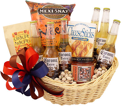 Mexican Beer Gift Basket