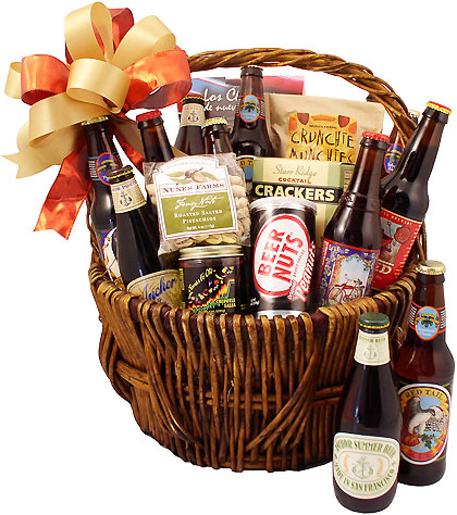 MicroBrew Master Gift Basket