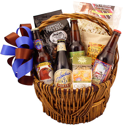 Party Beer Gift Basket