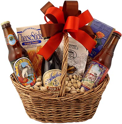 Microbrew Times Beer Gift Basket