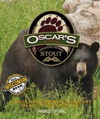 Sand Creek Brewing Co - Oscar's Chocolate Oatmeal Stout Label