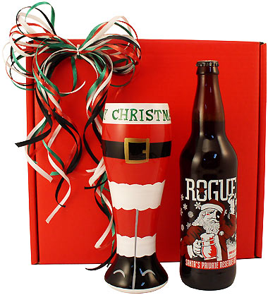 Santa's Private Reserve Holiday Beer Gift Box