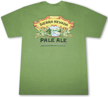 Sierra Nevada Green Pale Ale T Shirt