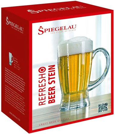 Spiegelau Refresh Beer Stein Gift Box