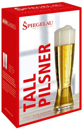 Spiegelau Tall Pilsner Beer Glass Gift Box