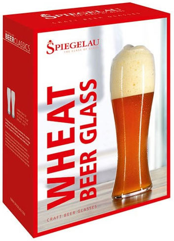Spiegelau Wheat Beer Glass Gift Box