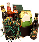 St. Patrick's Day Beer Gift Box
