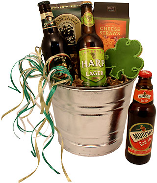 St. Patrick's Day Beer Gift Bucket